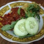 Indonesian Cuisine: Tempe Penyet
