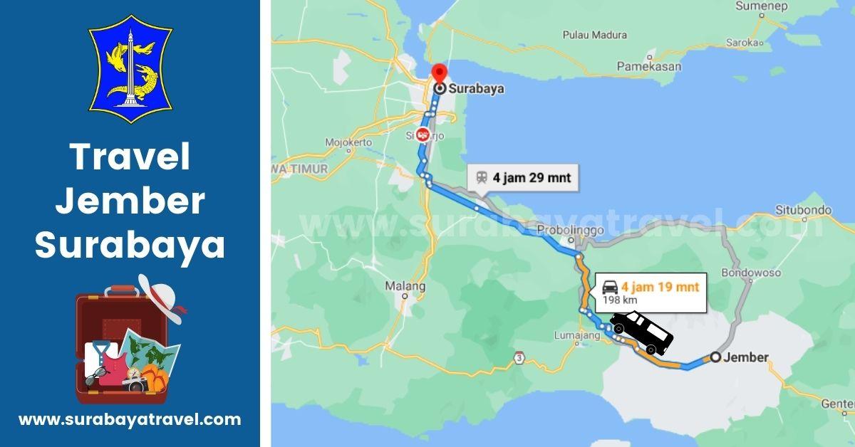 5 Agen Travel Jember Surabaya Harga Mulai Rp. 199.000