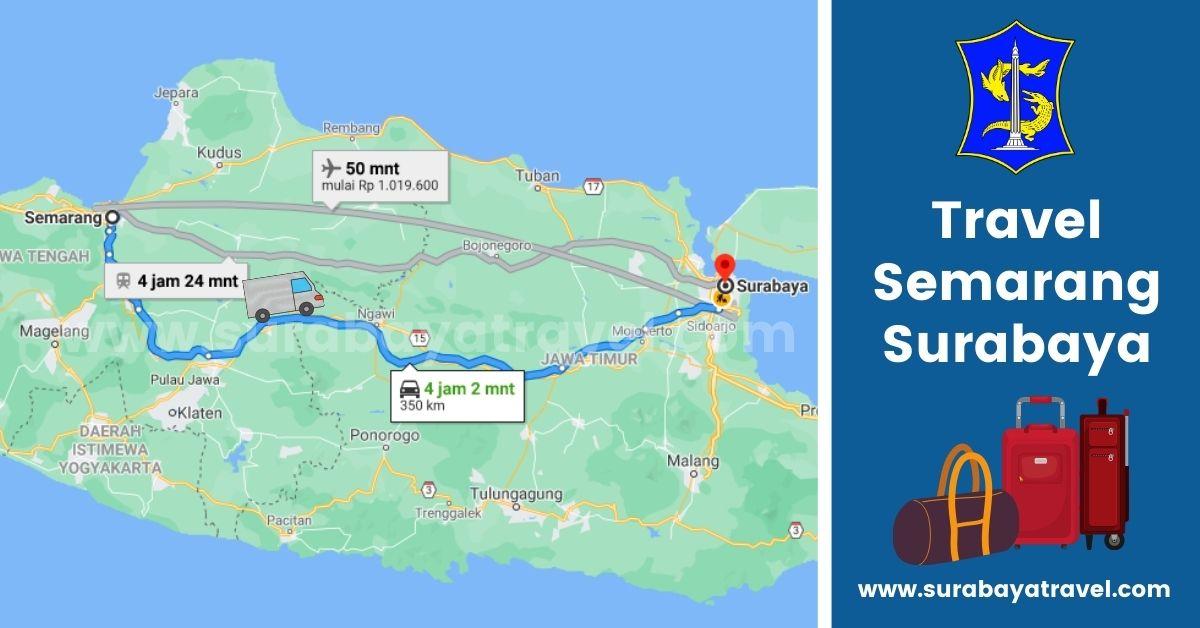 5 Agen Travel Semarang Surabaya dengan Tarif Terjangkau