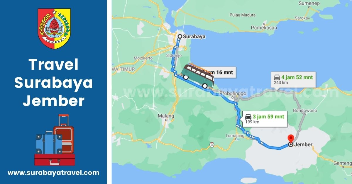 5 Agen Travel Surabaya Jember Terupdate