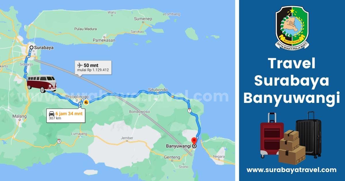 5 Rekomendasi Agen Travel Surabaya Banyuwangi