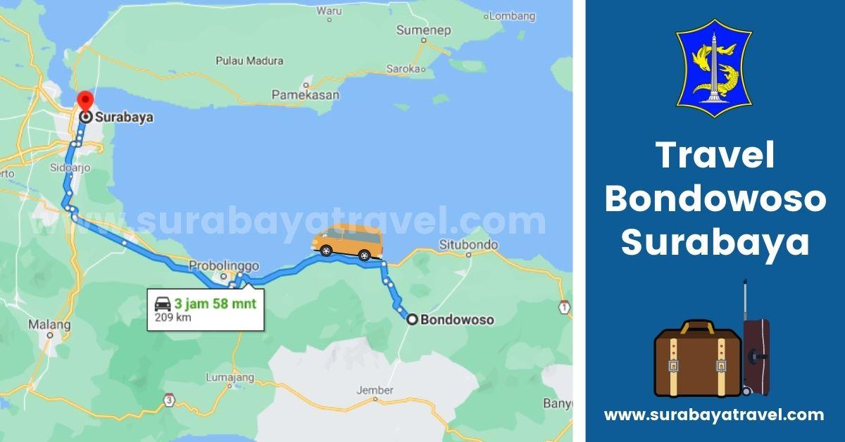 Agen Travel Bondowoso Surabaya