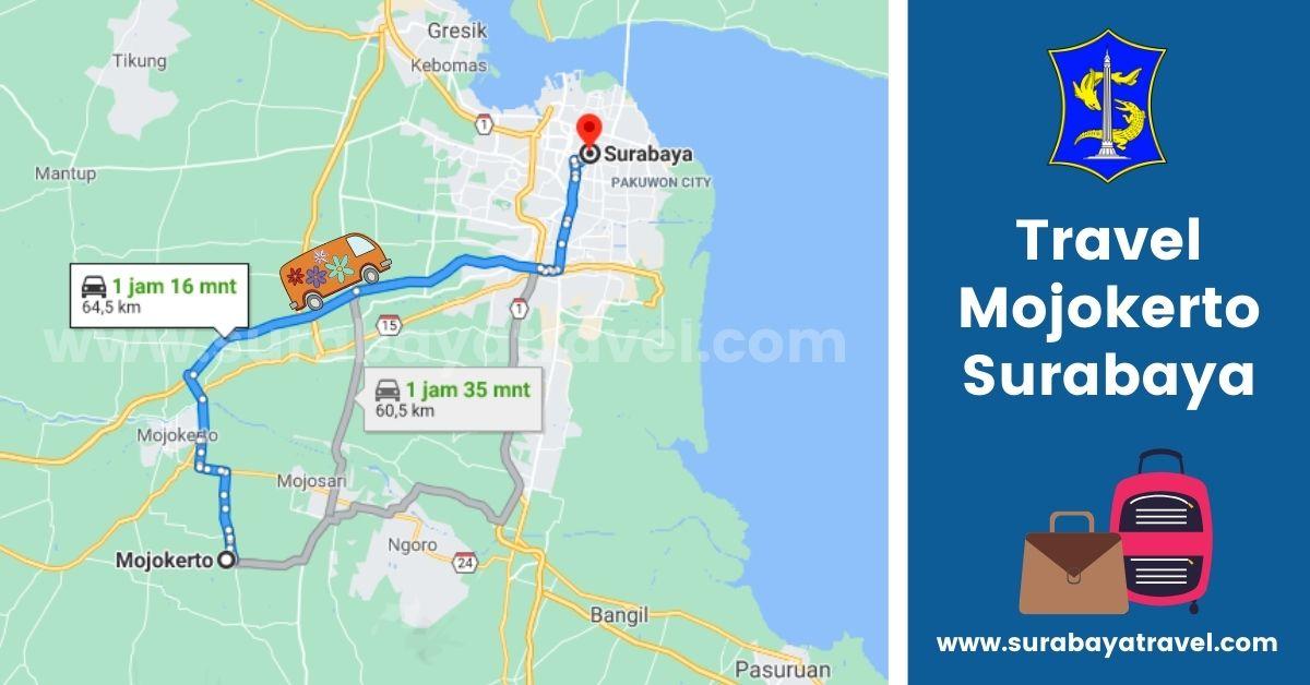 Agen Travel Mojokerto Surabaya