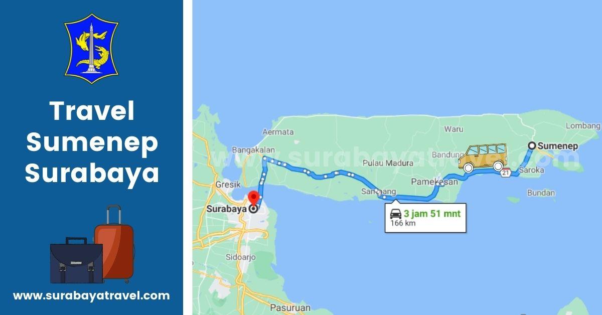 Agen Travel Sumenep Surabaya