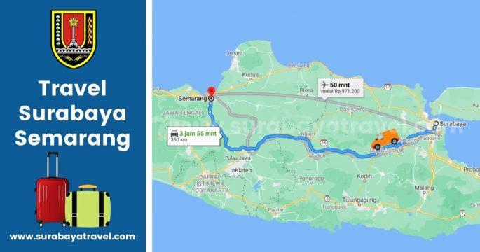 5 Agen Travel Surabaya Semarang Terbaru