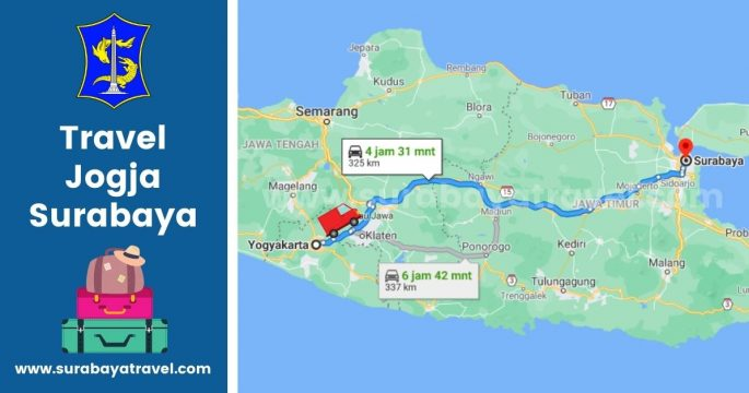 5 Rekomendasi Agen Travel Jogja Surabaya