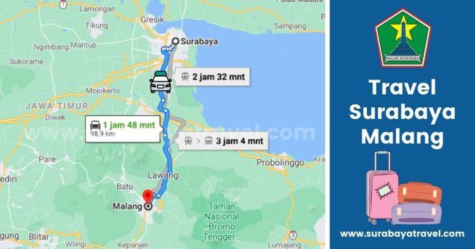 5 Rekomendasi Agen Travel Surabaya Malang Paling Murah