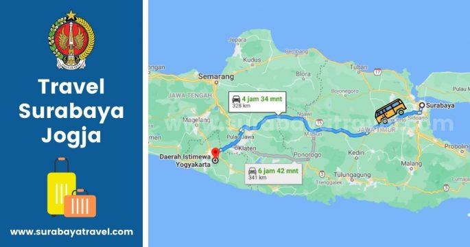 6 Agen Travel Surabaya Jogja